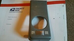 Controller Shifter Cat Th103 Telehandler Plastic Armrest Cover Cab Grey Part