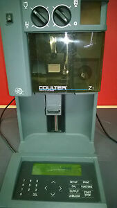Beckman Coulter Z1 Particle Counter Size Analyzer