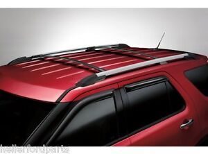 2011 2012 2013 2014 2015 Ford Explorer Roof Cross Bars 2pc Kit Bb5z 7855100 Aa