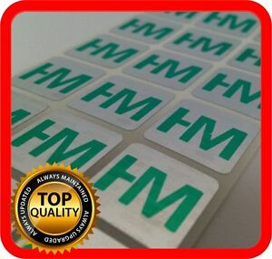 Your Green Print On 1000 Hologram Labels Void Warranty Tamper Seal 15x15mm