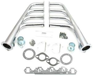 Patriot Chrome Lakester Headers Small Block Ford 260 351w Hot Rat Rod H8432
