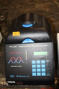 Mj Research Ptc 100 Pcr Programmable Thermal Controller