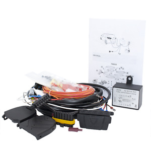 Erich Jaeger E Kit Universal Tow Bar Wiring Kit With 7 Pin Ip Rated Socket