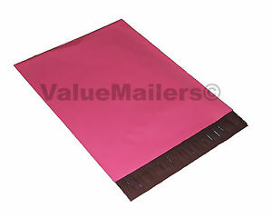 1000 10x13 Amaranth Pink Poly Mailers Shipping Envelopes Boutique Bags 100 Bag
