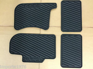 2000 2007 Subaru Impreza Wrx Sti All Weather Rubber Floor Mats Genuine Oem