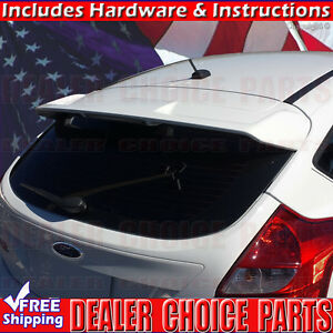 2012 2018 Ford Focus Hatchback St Oe Factory Style Spoiler Wing Abs Unpainted