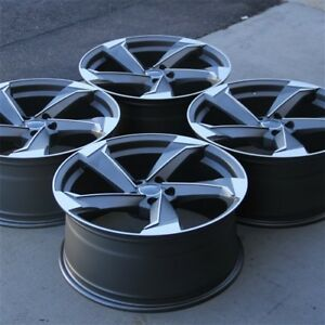 20 New 4 20x9 5x112 Et35mm Wheels Rims Audi Rs4 Rs5 A4 S4 A5 A6 A7 A8