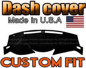 Fits 2014 2020 Nissan Rogue Dash Cover Mat Dashboard Pad Black