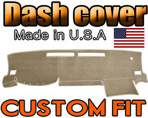 Fits 2016 2019 Toyota Tacoma Dash Cover Mat Dashboard Pad Beige