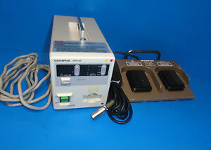Olympus Hpu 20 Heat Probe Unit W Maj 528 Foot Switch For Haemostasis 5226