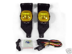 Yellow Fog Lights For 2005 2007 Ford F250 F350 Superduty Truck 2005 Excursion