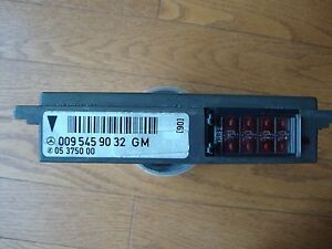 S600 Sl600 600sel 600sec Coupe Gm General Module Ecu 0095459032