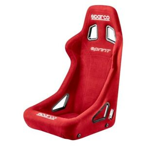 Sparco 008231rs Sprint Series Competition Seat Red Fabric