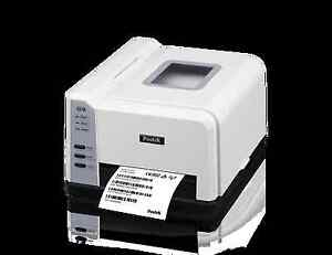 New In Box Postek Barcode Label Printer Qr Code 200dpi Compact Thermal Or Direct