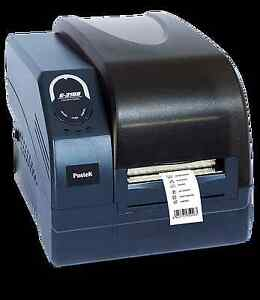 New In Box Postek Barcode Label Printer Qr Code 200dpi Industrial Thermal Direct
