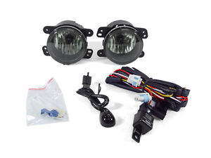 Smoked Fog Lights For 2007 2009 Jeep Wrangler Jk 2006 2008 Chrysler Pt Cruiser