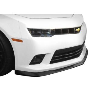 Chevy Camaro 14 15 Front Bumper Lip Under Air Dam Spoiler Gm X Style Fiberglass