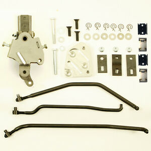 Mopar A Body Hurst Comp 4 Speed Shifter Kit For Slip In Handle Black Phosphate