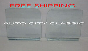 1951 1954 Chevy Gmc Pickup Truck Door Glass Assembled Clear Left Right