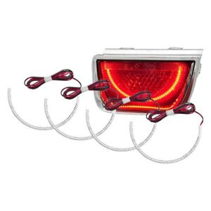 For Chevy Camaro 10 13 Oracle Lighting Smd Red Dual Halo Kit For Tail Lights