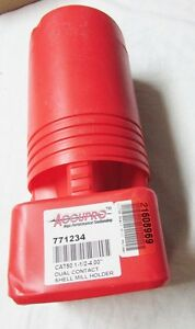 Accupro 42826669 Cat50 Shell Mill Holder 1 1 2 Pilot 4 00 Projection