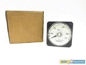 Gec Cil4a001aahh2 0 1200 A c Amperes Panel Meter 5a Amp