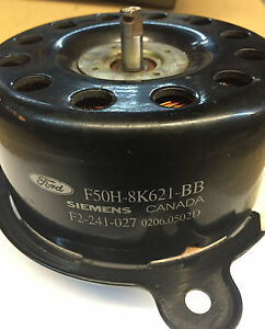 Radiator Cooling Fan Motor Fits Lincoln Continental Mercury Villager Quest
