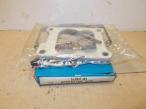 Mopar Nos Carter Major Carb Repair Pkg 74 V L B J R W W 360 Man 4bbl 3 4spd Hp