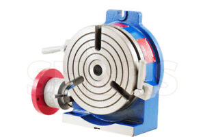 Shars 6 High Quality Horizontal Vertical Rotary Table With Certification New