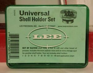 Lee Precision Universal Shellholder Set #90197 NIB Press shell Holder Hand