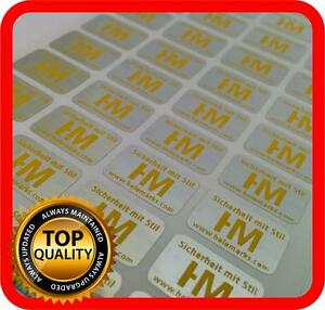 Your Yellow Print On 4000 Hologram Labels Void Warranty Tamper Seal 14x9mm