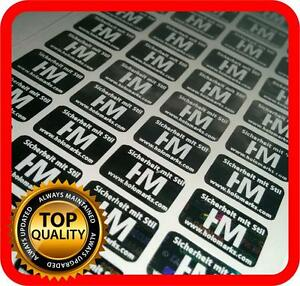 Your White Print On 4000 Hologram Labels Void Warranty Tamper Seal 14x9mm