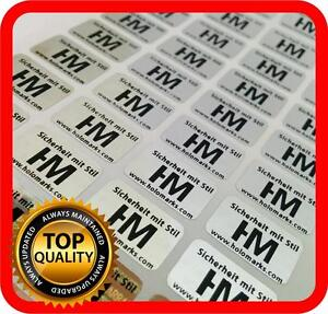 Your Black Print On 4000 Hologram Labels Void Warranty Tamper Seal 14x9mm