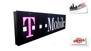 T mobil Sign led Light Box Sign 12x48x2 Inch