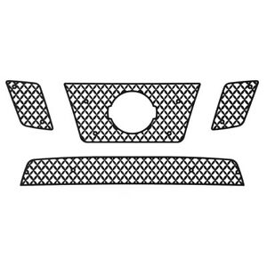 Grille Insert Guard Mesh Punch Black Fits 09 14 Nissan Frontier 32