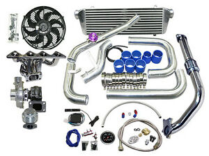 Honda Civic B Series Motor Swap Turbocharger Kit