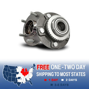 2 New Rear Wheel And Hub Bearing Assembly For Infiniti I30 I35 Nissan Maxima