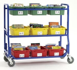 Copernicus Library On Wheels Utility Cart