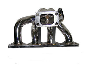 Turbo Manifold For 88 00 Honda Civic With D16 Engine T3 Turbo Flange Fits 35mm