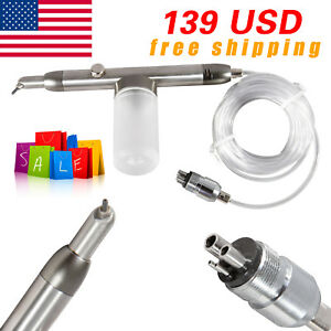 Usa Dental Alumina Air Abrasion Polisher Microetcher Sandblasting Guns Fit Kavo