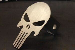 Punisher Skull Hitch Cover 1 8 Steel Tow Towing Reese Custom