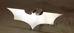 Batman Hitch Cover 1 8 Steel Tow Towing Reese Custom Batwings Dark Knight
