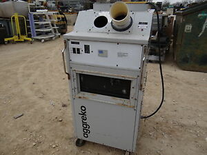 Aggreko 1 Ton Spot Cooler Portable Air Conditioner Industrial Hvac Unit 13 500