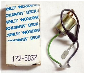 Nos Beck Arnley Worldparts Ignition Points Condenser Direct Fit 172 5837