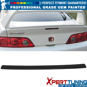 Fits 02 06 Acura Rsx A spec Style Painted Abs Trunk Spoiler Oem Painted Color