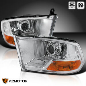 For 2009 2019 Dodge Ram 1500 2500 3500 Projector Headlights Left right 09 10 11