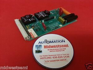 Freeshipsameday Crosfield 7605 0300 02a Solid state Relay Mk3 Board 7605 0290 00