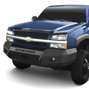 For Chevy Silverado 2500 Hd 03 06 Bumper Heavy Duty Series Full Width Black