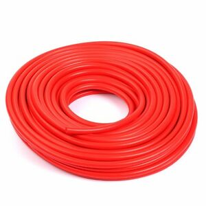 High Performance 20 Feet Id 3mm 1 8 Silicone Vacuum Hose Tube Red