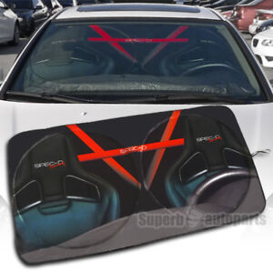Foldable 1pc Car Windshield Sun Shade Reflective Sun Block Window Cover 51 X28